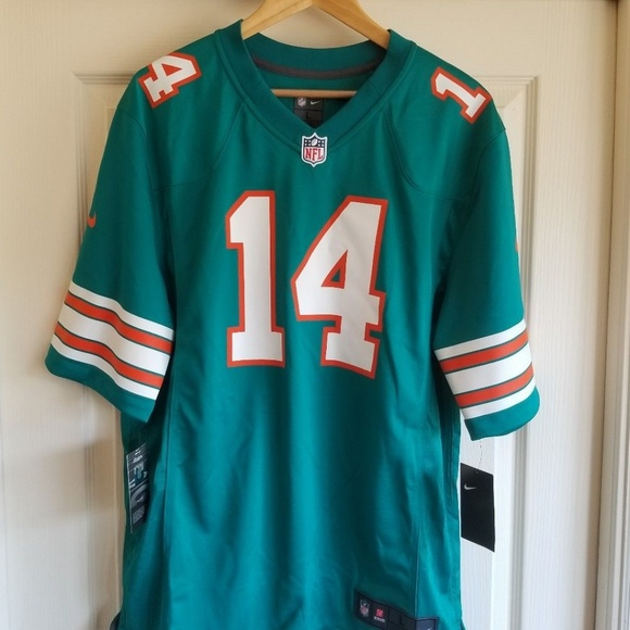 promo code f162f a7639 Miami Dolphins Jarvis Landry Throwback Jersey NWT